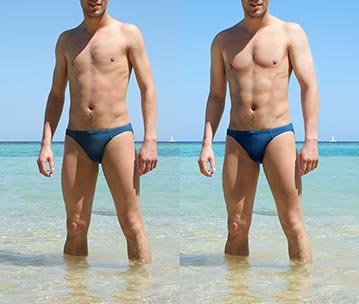 Body Photoshop Before - After