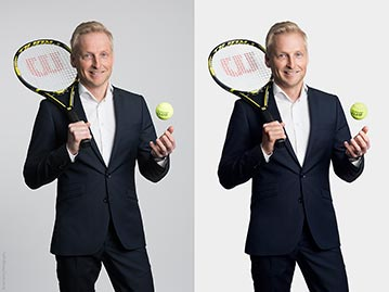 Corporate Headshot Retouching Before & After