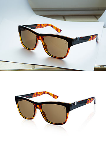 Product Retouch Glasses before & after